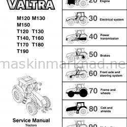 VALTRA MT service manual-0011401350979