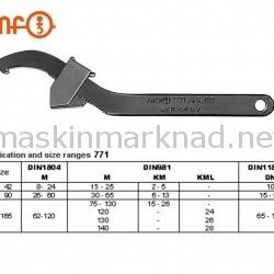 AMF justerbar haknyckel