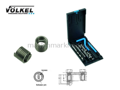 Översikt vanlig v-coil i låda