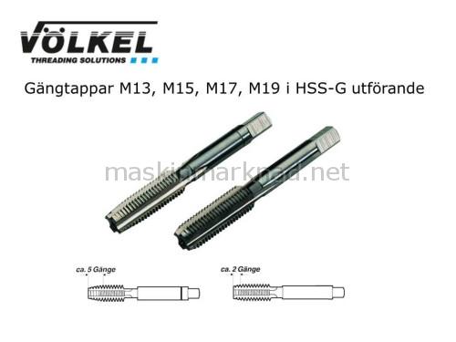 Völkel M13 M15 M17 M19 gängtappar